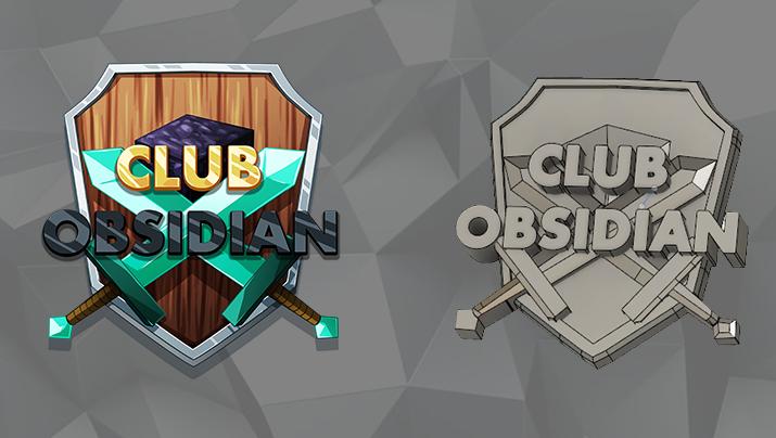 Club Obsidian Logo – 3DPrint